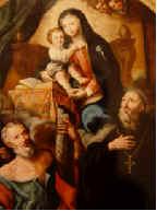 Dipinto: S.Anna, la Madonna e il Bambino