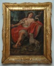 San Giovanni evangelista, olio su tela