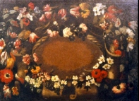 Pannello decorativo, scuola napoletana