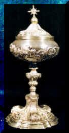 Pisside in argento, sec. XVII