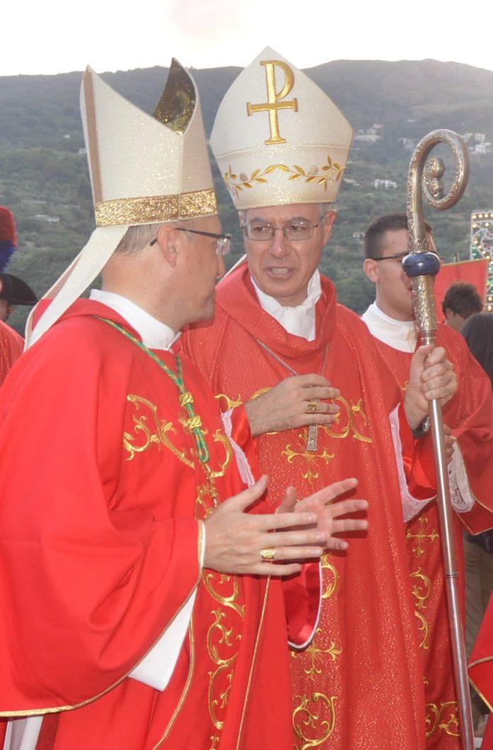 Monsignor Di Pietro e Monsignor Giombanco