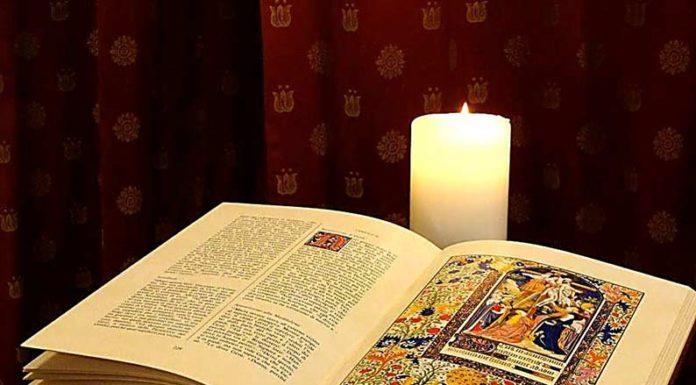 Vangelo e candela
