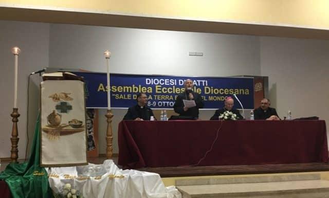 Primo giorno dell'Assemblea Diocesana